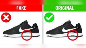 Perbedaan Sneakers KW dan Original